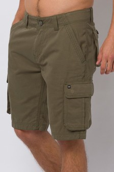 Animal Dusty Olive Green Mazo Walk Shorts
