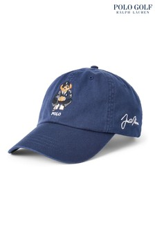 Polo Golf by Ralph Lauren Navy Bear Logo Twill Cap