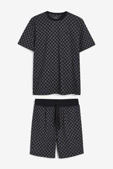Checkerboard Co-Ord Pyjama Set
