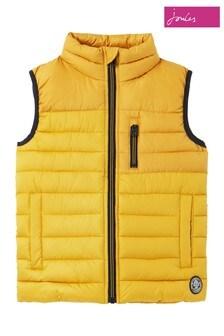 Joules黃色Rory 回收外層布料加厚背心