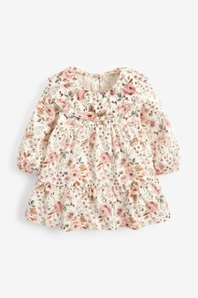 Floral Tiered Collar Top (3mths-7yrs)