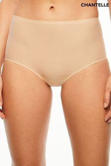 Chantelle Nude Soft Stretch High Waisted Briefs