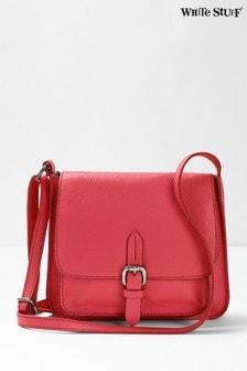 White Stuff Sunny Kleine Tasche mit Schnallenverschluss, Rot