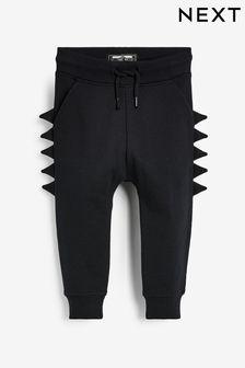Спортивные брюки со стилизованными гребнями (3 мес.-7 лет)