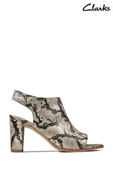 Clarks Grey Kaylin Sling Sandals