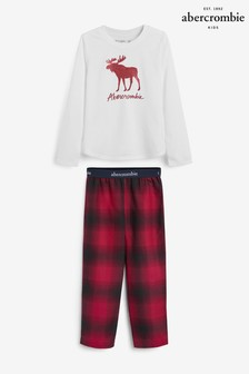 Abercrombie & Fitch Plaid Pyjama Set
