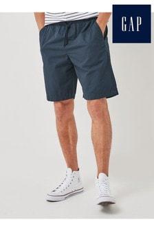 Gap Navy Tie Waist Shorts