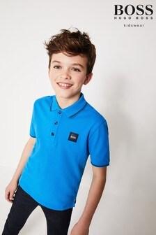 BOSS Blue Square Poloshirt