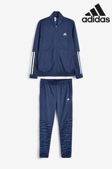 Темно-синий спортивный костюмadidas