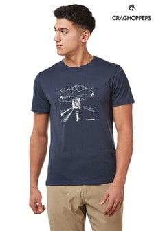 Craghoppers Blue Nelson T-Shirt
