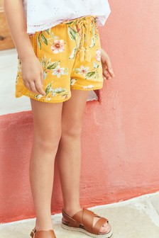 Trim Detail Shorts (3-16yrs)