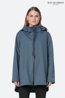 Ilse Jacobsen Hornbæk Raincoat In Orion Blue