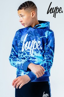 Hype. Paint Splatter Hoody