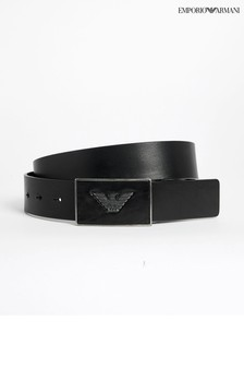 Emporio Armani Black Eagle Belt