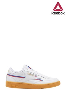 Reebok White Gum Club C 85 Trainers