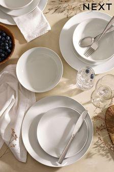 White Nova 12 Piece Dinner Set