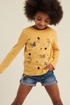 FatFace Butterfly Scatter T-Shirt