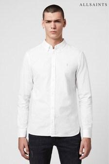 AllSaints White Redondo Shirt