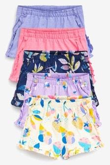 5 Pack Shorts (3mths-7yrs) (114322) | $25 - $31