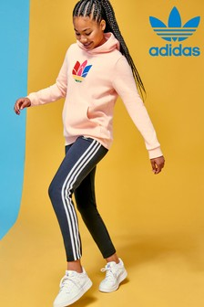 adidas Originals Hoodie mit 3D-Dreiblatt-Design