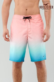 Hollister Pink Ombre Swim Shorts