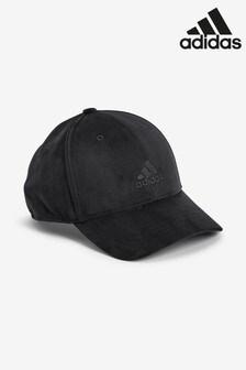 Welurowa czapka z daszkiem adidas