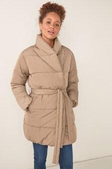 Belted Padded Jacket