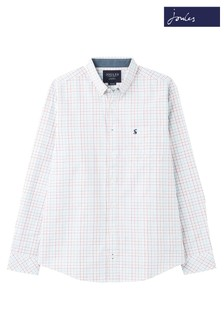 Joules White Welford Classic Fit Shirt