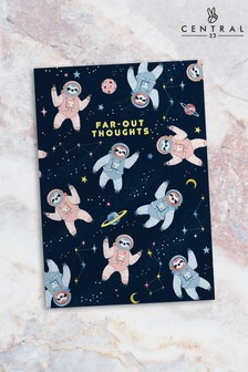 Central 23 Space Sloth Notebook
