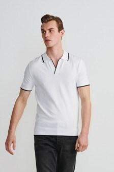 Рубашка поло в стиле ретро из премиум-коллекции