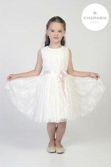 Charabia White Lace Dress