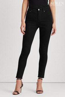 Lauren Ralph Lauren Skinny-Stretch-Jeans, Schwarz