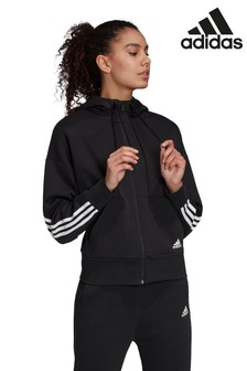 Толстовка Adidas с 3 полосками, на молнии