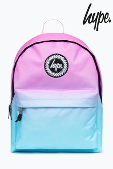 Hype. Pink Mint Speckle Backpack