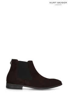 Kurt Geiger London Frederick Eagle Brown Boots