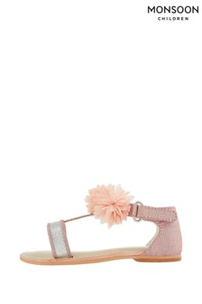 Monsoon Baby Cleo Corsage Walker Sandals