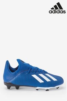 Темно-синие футбольные бутсы adidas X 3