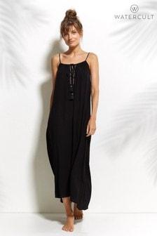 Vestido negro de tirantes de Watercult