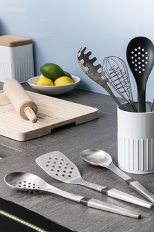 Bakehouse Stainless Steel Slotted Spoon