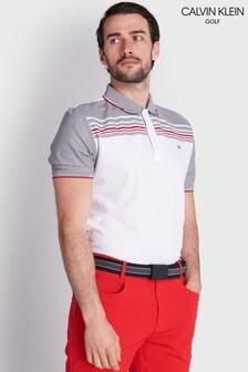 قميص بولو أبيض Nelson منCalvin Klein Golf