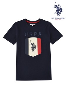 U.S. Polo Assn. Blue Shield T-Shirt