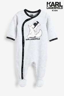 Karl Lagerfeld Kinder Schlafanzug, Grau