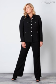 Live Unlimited Black Tailored Trousers