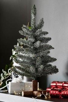 Snežno umetno božično drevo