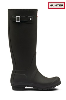 Hunter Women's Original Matte Black Tall Welly