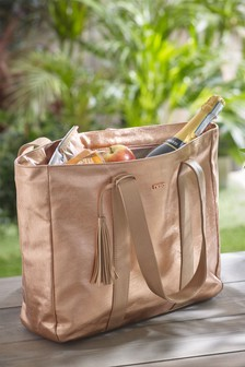 Rose Gold Picnic Tote Bag