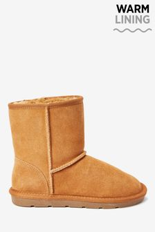 Water Repellent Suede Pull-On Boots (Older)