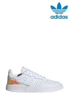 Белые кроссовки adidas Originals Supercourt