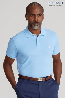 Polo Golf by Ralph Lauren Logo Stretch Short Sleeve Polo