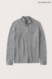 Abercrombie & Fitch Quarter Zip Jumper